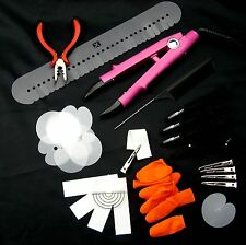 FLAT PLATE - FUSION WAND IRON FOR PRE-BONDED HAIR EXTENSION STARTER KIT - PINK