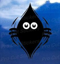 Monster Small to Large Peeping Peek a Boo Funny Car Van Wall Stickers Decals d2