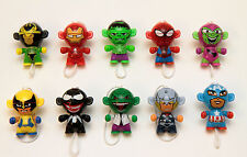 Kinder Marvel Twisthead Figures Spiderman Iron Man Hulk Thor Wolverine Loki