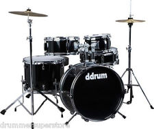 Ddrum D1 Junior Drum Kit 5pc Drum Set with Cymbals Throne and Hardware