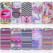 New Colorful Pattern Design Hard Back Case Covers For Apple iPhone 5C DD