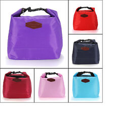 Thermal Cooler Insulated Waterproof Lunch Carry Tote Bag Storage Pouch Picnic