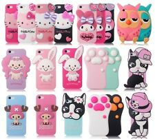 3D Cute Doll Design Soft Rubber Silicone Case Cover Skin for Apple iPhone 5 5S