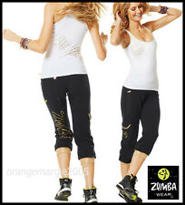 ZUMBA  FITNESS Galatic CAPRI & El FAb  Racerback Tank Top - DANCE! 2 PIECE SET!