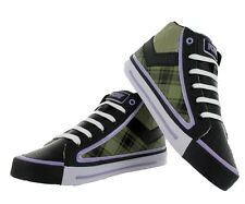 Pony Feed The Cat Mid Black/Purple/Olive Color Athletic Women's Shoes Sneakers