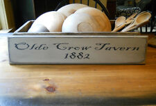 Olde Crow Tavern Primitive Sign (you choose color)
