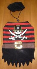 NEW Pet Dog Halloween Costume PIRATE Buccaneer Hat Size XXS XS SM MED LARGE Red