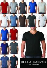 Bella+Canvas 3005 Unisex V-Neck Jersey Tee Men's Ladies T-Shirt