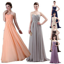 Gorgeous Prom Womens Sexy Long Stock 2 Styles Evening Bridesmaid Cocktail Dress