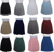 Pleated Mini Skirt Japan School Girl Uniform Style Cheerleader Sailor Dress