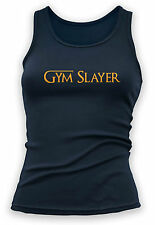 Womens Tank Game Of Thrones Gym Slayer Vest Bodybuilding Top Fitness Clothing