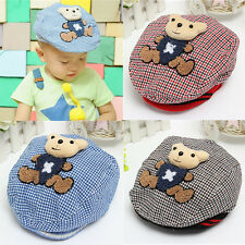 Cute Kids Baby Infant Boy Girl Child Cotton Bear Beret Warm Hunting Cap Sun Hat