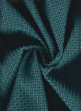 KNOLL TOTEM Raindrop Teal  Upholstery Fabric Mid-Century Modern