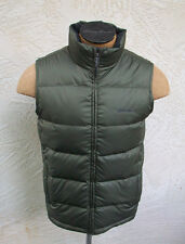 New Eddie Bauer Mens Classic Down Vest Deep Olive Green Jacket Coat NWT