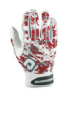 2014 DeMarini Camo Scarlet S, M, L, XL, XXL Adult Baseball Batting Gloves NIW