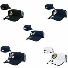1 Dozen Military Air Force Army CG Marines Navy Cotton BDU Cadet Hats Caps