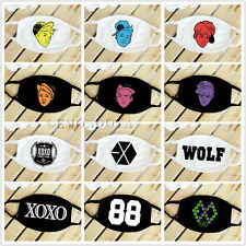 EXO Cotton Facial Mask Cartoon Member XOXO Face Mask Wolf 88 Mouth Muffle K-POP