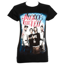 Pierce The Veil Band Design Skinny Fit T Shirt Tee Top Official Band Merchandise
