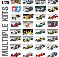 TAMIYA 1/24th CAR PLASTIC MODEL KIT BUILD YOURSELF - ALL TYPES AVAILABLE!