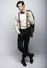 11th DOCTOR WHO Official Licensed Red BRACES Suspenders Costume Props REPLICA