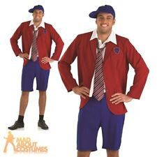 Adult School Boy Costume Mens Schoolboy Reunion Fancy Dress Stag Party Outfit