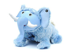 ZOOBIES ELLEMA BLUE ELEPHANT PLUSH TOY PILLOW BLANKIE DOTS BLANKET TEETHING RING