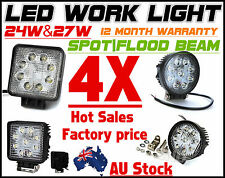 4X Flood Spot Work light lamp Combo offroad 4X4 SUV Boat ATV Tractor UTE 12V 24V