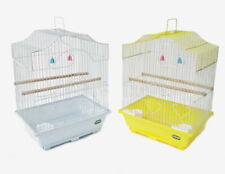 HERITAGE CAGES CORFE BUDGIE FINCH BIRD CAGE 30x23x39CM BUDGIES CANARY SMALL PET