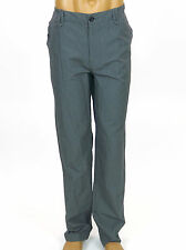 NWT MARC ECKO CUT & SEW Straight Cut Tiny Checker Flat Front Pant - STAIN ON LEG