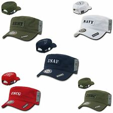 BDU Vintage Reversible Patrol Fatigue Cadet Cotton Military Caps Cap Hat Hats
