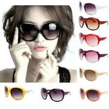 New Fashion Vintage Oversize Frame Shades Classic High Quality Women Sunglasses