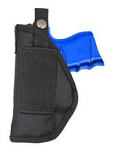 New Barsony OWB Gun Belt Loop Holster for Ruger Compact, Sub-Compact 9mm 40 45