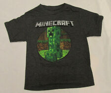 Mojang Jinx Minecraft  Dark Grey Short Sleeve T-shirt Tee NEW