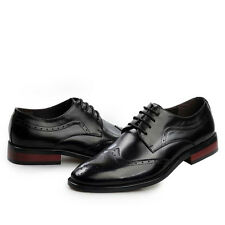 UK & US Stylish Man Fashion Business Oxfords Hollow-out Brogue Shoes Eu 37-43