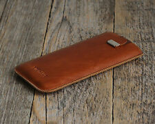 iPhone SE 6 6s Plus 5 5s 5c genuine real leather cover sleeve case pouch