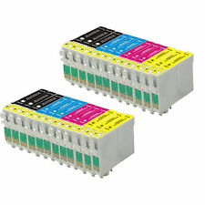 24 Ink Cartridges For Epson Expression Home and Workforce Printer
