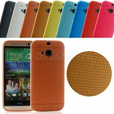 Ultra Thin Soft TPU Gel Silicone Matte Cover Case Skin For HTC One M8