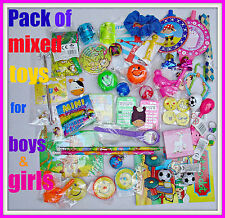 PARTY BAG TOYS FILLERS + free tattoos Goody Pinata kids birthdays PRIZES FuN