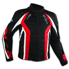 Apparel Motorcycle Wind Waterproof CE Armour Thermal Textile Jacket Red