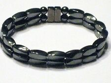 Men's Powerful100% Magnetic Hematite Bracelet/Anklet AAA+ 2 Row  FREE SHIPPING