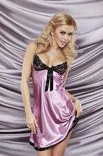 Negligee Nightgown Sleepwear Babydoll Lingerie From Satin us Lace MonicF