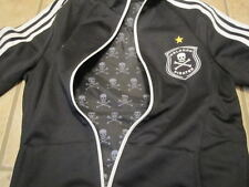 Adidas OP Track Top TT Orlando Pirates Jacket Black Africa Soccer Womens Skulls