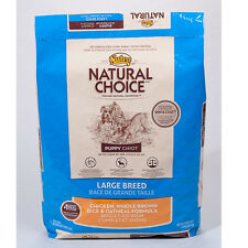 Nutro Natural Choice Large Breed Puppy Chicken, Whole Brown Rice and Oatmeal For