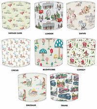 Cath Kidston Lamp Shades Ideal To Match Duvets, Bedding, Curtains & Cushions etc