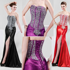 Glistening Ball Gown Cocktail Peagant Bridesmaid Weeding Formal Party Long Dress
