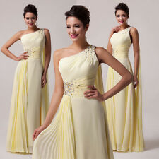 Glam Womens SEXY Long Formal Evening Gown Bridesmaid Prom Wedding Party Dresses