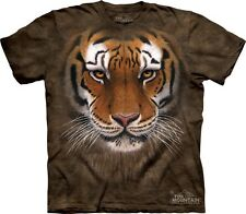 Tiger Warrior Kids T-Shirt from The Mountain. Jungle Zoo Childrens Sizes NEW