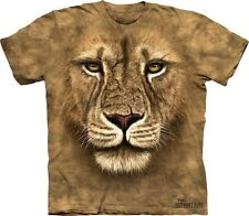 Lion Warrior Kids T-Shirt from The Mountain. Jungle King Childrens Sizes NEW