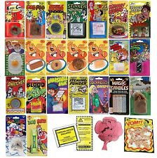 Practical Jokes Pranks Biscuits Lottery Parking Fake Poo Cigarettes Vomit Kids