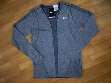 New with Tag NIKE Womens Knit GREY running shirt 520294-011